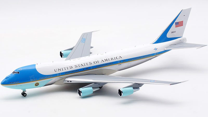 Mô Hình Máy Bay United States Air Force Boeing VC-25 28000 Air Force One | InFlight 1:200
