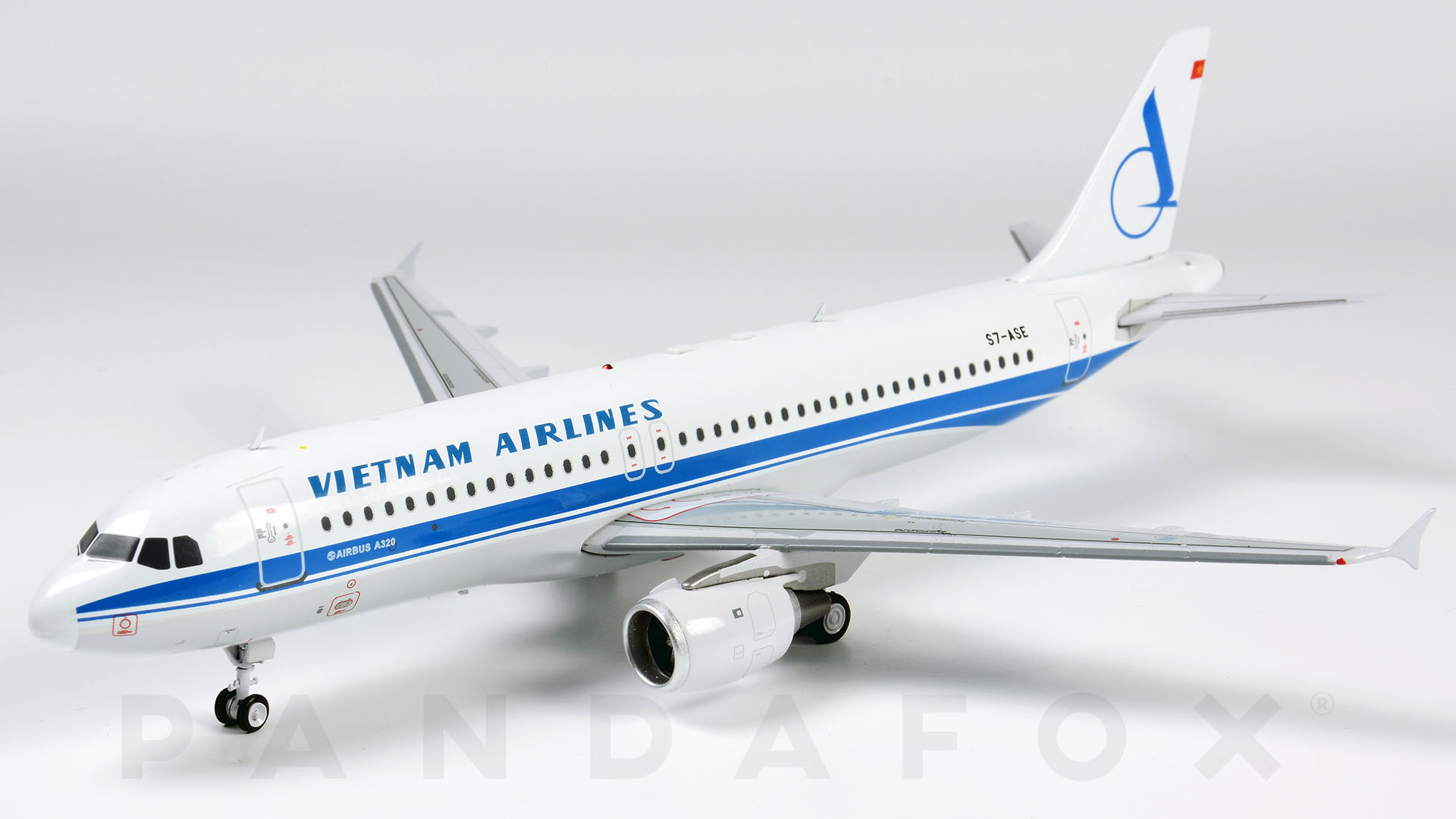 Mo Hinh May Bay Vietnam Airlines Airbus A320 S7 Ase Pandafox Toys Vietnam May Bay Mo Hinh Tĩnh