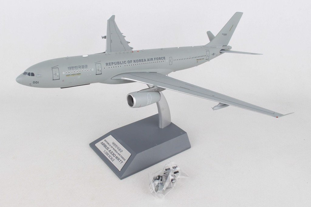 Mô Hình Máy Bay South Korea Air Force Airbus A330 MRTT 18-001 | InFlight 1:200