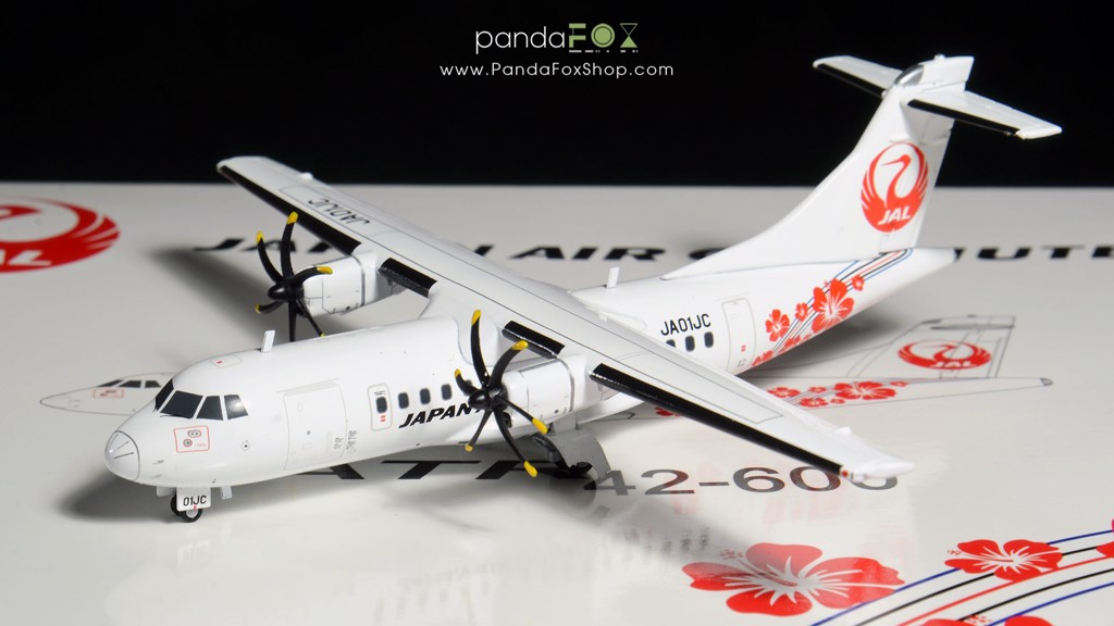 Mô Hình Máy Bay Japan Air Commuter ATR 42-600 JA01JC | JC Wings 1:200