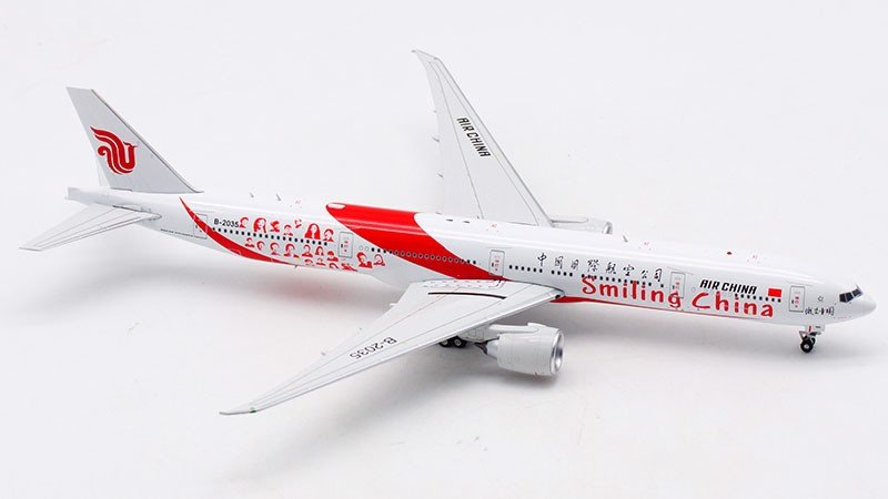 Mô Hình Máy Bay Air China Boeing 777-300ER B-2035 Smiling China | Aviation 1:400