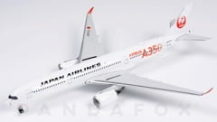 Mô Hình Máy Bay Japan Airlines Airbus A350-900 JA01XJ Red Titles | Phoenix 1:400