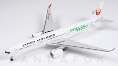 Mô Hình Máy Bay Japan Airlines Airbus A350-900 JA03XJ Green Titles | Phoenix 1:400