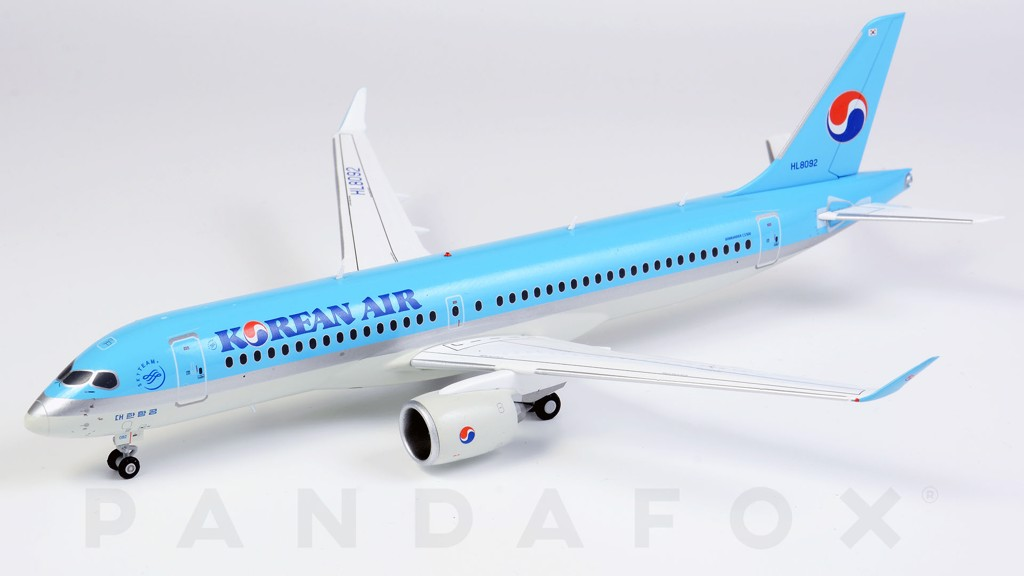 Mô Hình Máy Bay Korean Air Airbus A220-300 HL8092 | JC Wings 1:200