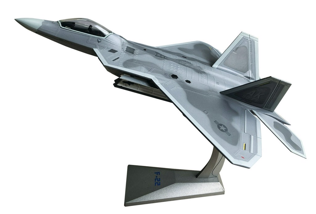 Mô Hình Máy Bay United States Air Force F-22 Raptor | Air Force 1 1:72