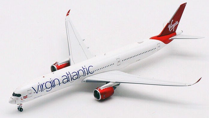 Mô Hình Máy Bay Virgin Atlantic Airbus A350-1000 G-VPOP | Aviation 1:400