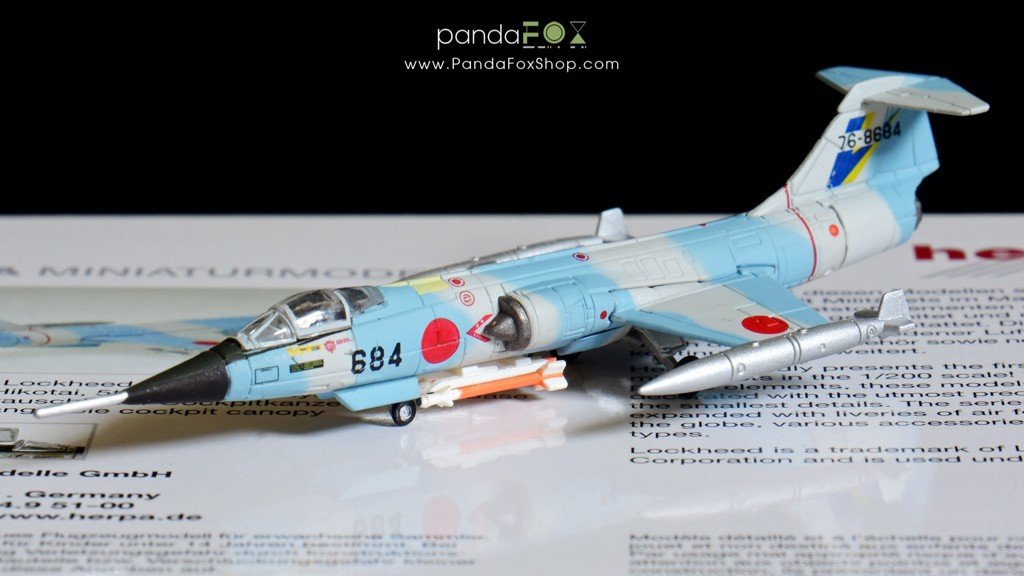 Mô Hình Máy Bay Japan Air Self-Defense Force F-104J 74-8684 | Herpa 1:200