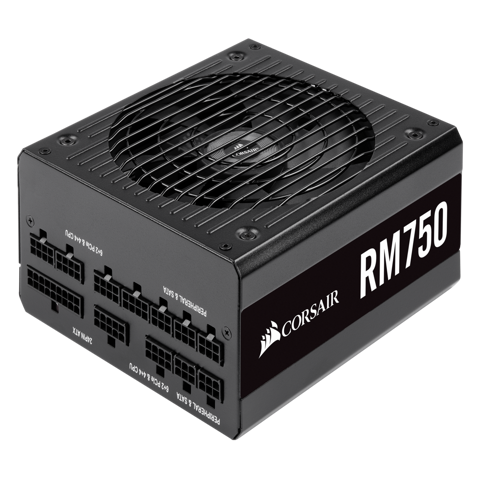 Corsair RM Series 750 (2019) - 80 Plus Gold - Full Modular