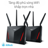 ASUS RT-AC86U (Gaming Router) AC5800 MU-MIMO WTFast, AiMesh 360 WIFI Mesh, 2 băng tần, chipset Broadcom, AiProtection, USB 3.0
