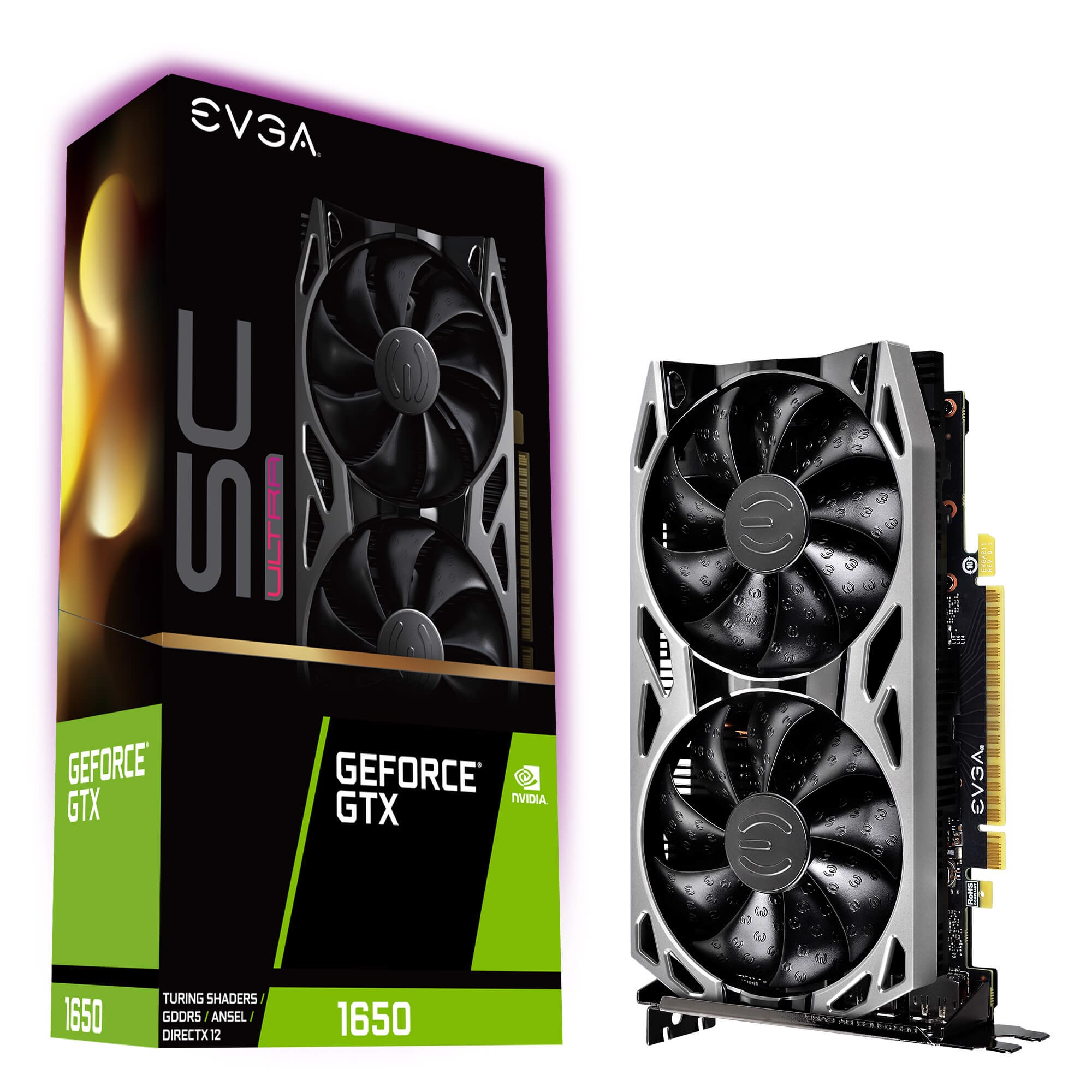 EVGA GeForce GTX 1650 SC ULTRA GAMING 4GB GDDR5