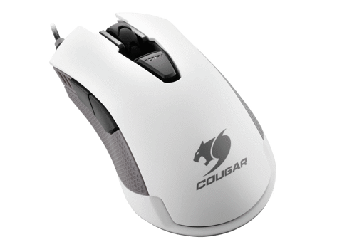 Cougar 500M White RGB Led - Avago A3090 Optical Gaming Mouse