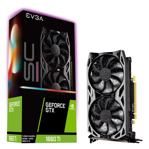 EVGA GeForce GTX 1660 Ti SC ULTRA GAMING 6GB GDDR6