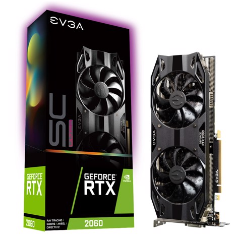 EVGA GeForce RTX 2060 SC ULTRA GAMING 6GB GDDR6