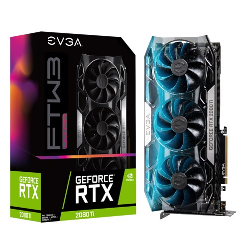 EVGA GeForce RTX 2080 Ti FTW3 ULTRA 11GB GDDR6
