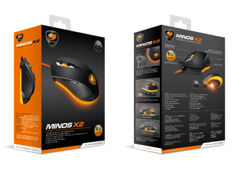 Cougar Minos X2 - Optical Gaming Mouse