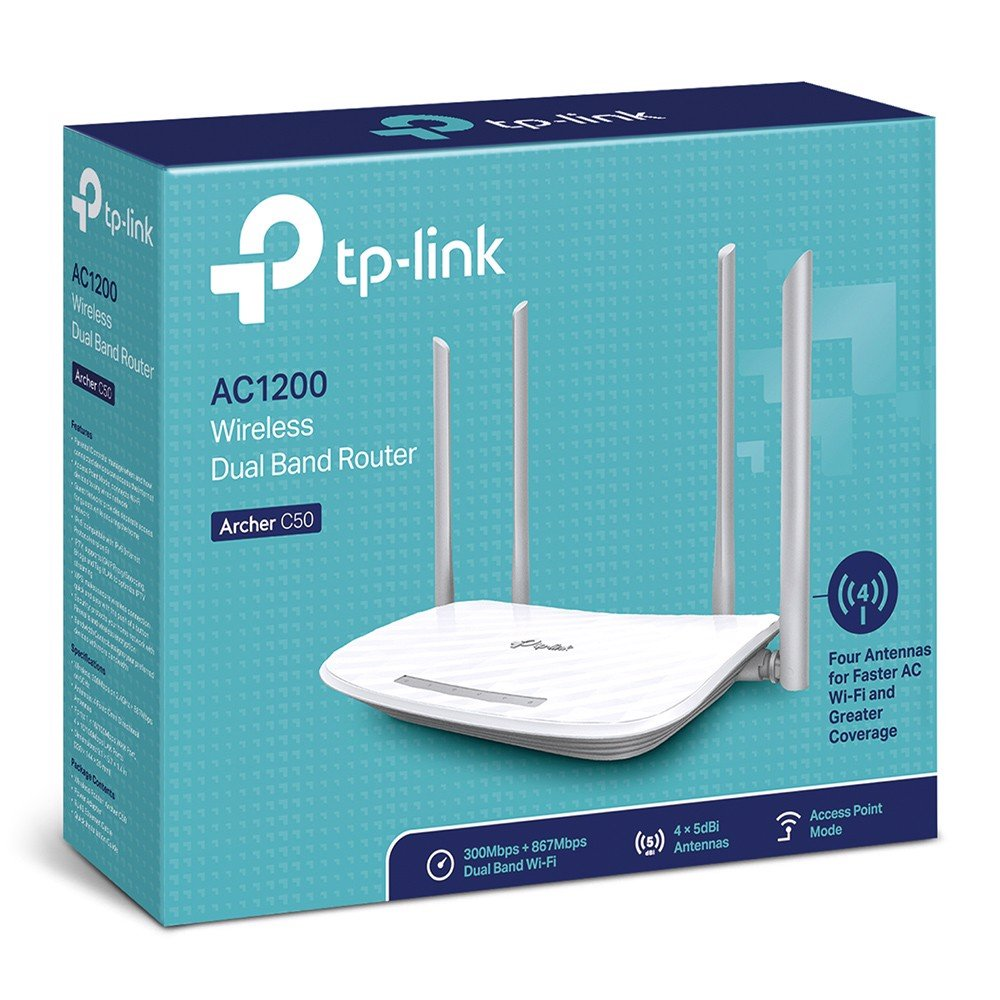 TP-Link Archer C50 Wireless Router