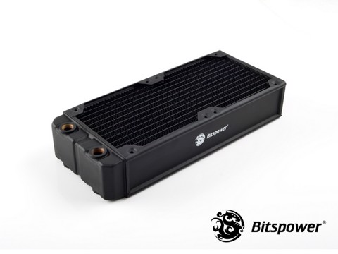 Bitspower Leviathan Xtreme 240 4xG1/4'' - Full Copper Premium Radiator