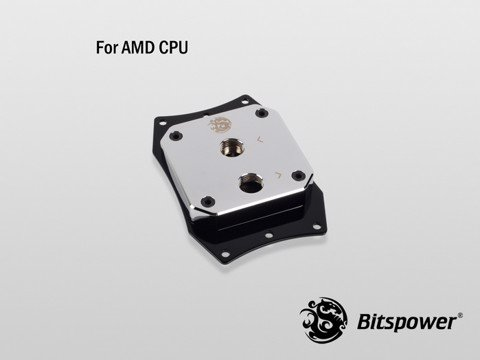 Bitspower Summit EF AMD Brass Nickel Plated - CPU Block