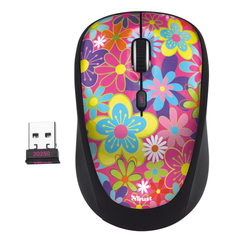 Trust YVI Flower 20250 Wireless mouse