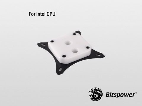 Bitspower Summit EF White - CPU Block