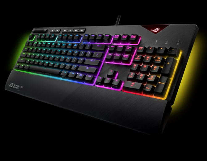 Asus ROG Strix Flare Cherry MX Red Switch Mechanical Keyboard