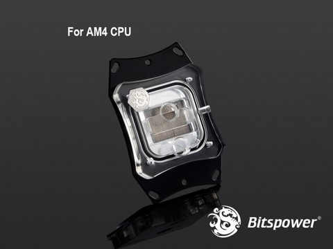 Bitspower Summit EF-X AMD Acrylic Top - CPU Block