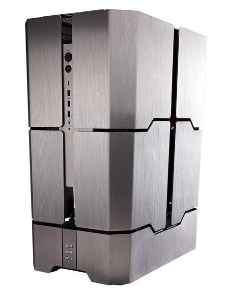 In-Win Signature Motorized Transformer H-Tower RGB - E-ATX Aluminium Limited Edition Full Tower Case
