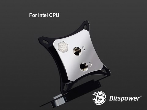 Bitspower Summit EF-X Silver - CPU Block