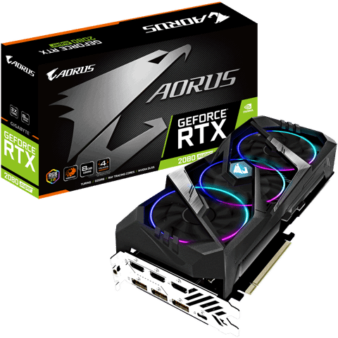 GIGABYTE AORUS GeForce® RTX 2080 SUPER™ 8G