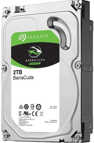 Seagate BarraCuda 2TB 7200 RPM 256MB