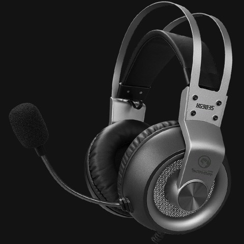 Marvo HG9035 Grey USB 7.1 Led - Headphones