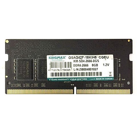 Kingmax 8GB(1X8) 2666 DDR4 for laptop