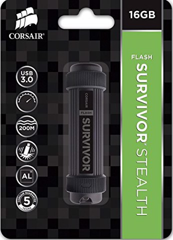 USB Corsair Survivor Stealth 16GB - USB 3.0