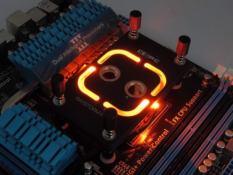 XSPC RayStorm Pro AMD Custom Led - Premium Cpu WaterBlock