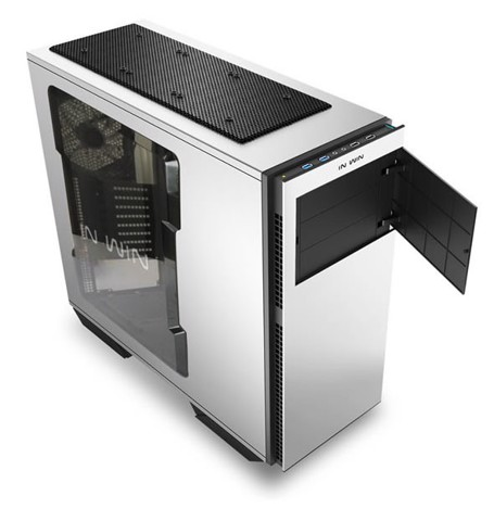 In-Win 707 White/Silver Aluminium-  Full Tower Case