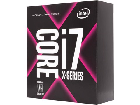 CPU Intel Core i7 - 7800X 3.5 GHz Turbo 4.0 GHz / 8.25MB / 6 Cores, 12 Threads / socket 2066
