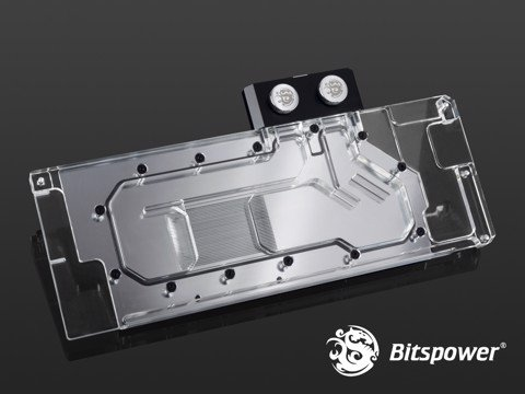 Bitspower VGA Block TITAN V Nickel Acrylic