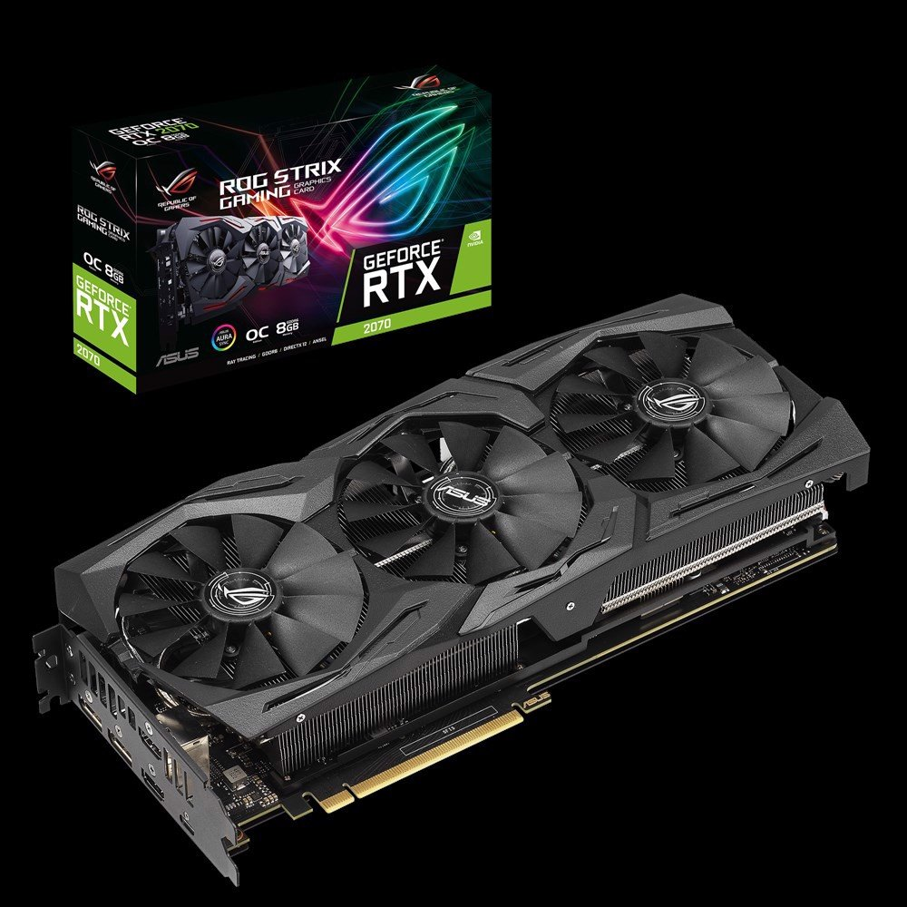 ASUS RTX 2070 ROG Strix OC Edition 8GB GDDR6