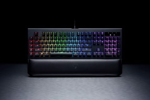 Razer BlackWidow Chroma V2 Yellow Switch - Mechanical Gaming Keyboard