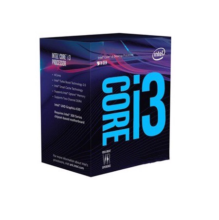 Intel Core i3-9100F 4C/4T 6MB 3.6- 4.20 GHz - Socket 1151v2 Coffee Lake