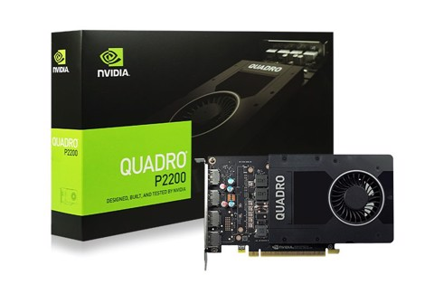 NVIDIA Quadro P2200 5 GB GDDR5x-160-bit - Workstation Video Card