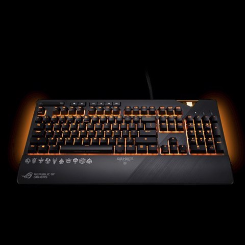 Asus ROG Strix Flare Cherry MX Red Switch Black Ops 4 Edition Mechanical Keyboard