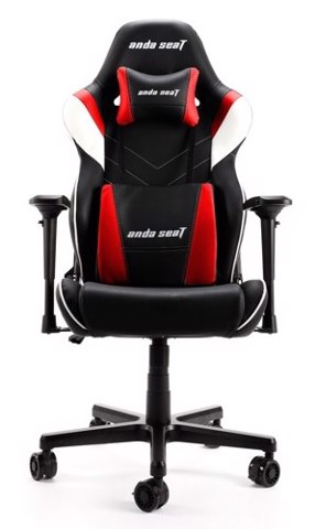 Anda Seat Assassin King V2 Black/Red - Full PVC Leather 4D Armrest Gaming Chair
