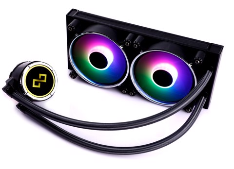 Infinity Dark Wizard Addressable RGB 240mm liquid CPU cooler - 5x Chroma Edition
