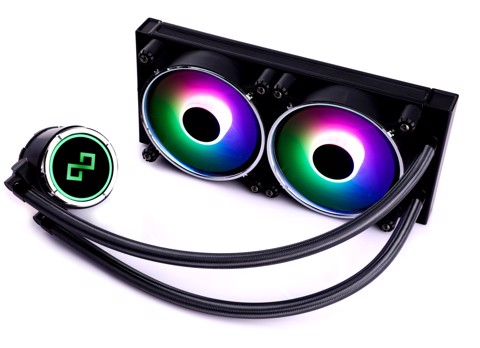 Infinity Dark Wizard Addressable RGB 240mm liquid CPU cooler - 3x Chroma Edition