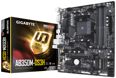 GIGABYTE AB350M-DS3H – Socket AM4