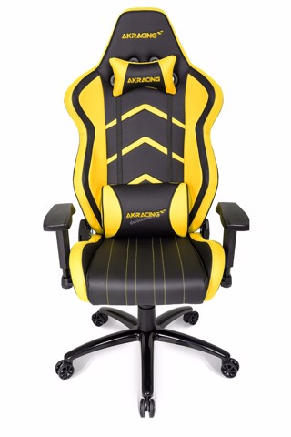 AK Racing Player+ Black/Yellow - Gaming Chair
