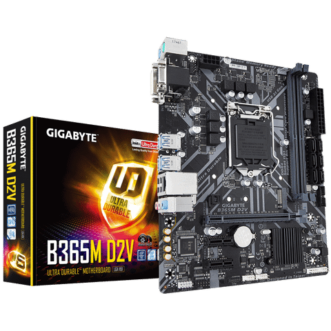 Gigabyte B365M D2V - Socket 1151v2 Coffee Lake