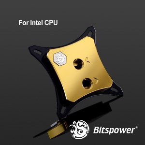 Bitspower Summit EF-X Gold - CPU Block