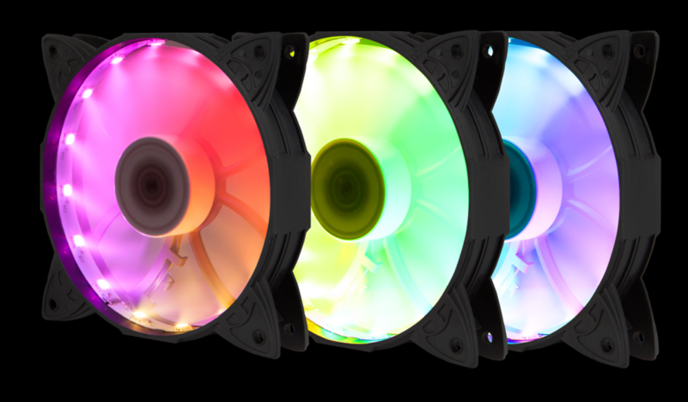 Infinity Spectra - 3x Addressable RGB Led control fan